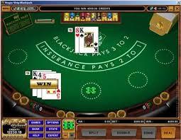 Blackjack Pöydän Kuva